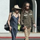 Aerosmith frontman Steven Tyler, 71, holds hands with girlfriend Aimee Ann Preston, 31, on WeHo date