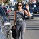 Teri Hatcher – Leaving a gym in Studio City - 454 x 681