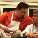 Brian O'Halloran as Dr. Jordan and Bronson Pinchot as Mr. Kimbal in Hooking Up.
