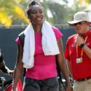 Venus Williams On the practice court day 4 in Key Biscayne - 454 x 636