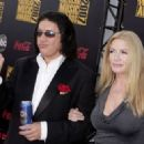 Gene Simmons and Shannon Tweed arrives at the 2007 American Music Awards held at the Nokia Theatre L.A. LIVE on November 18, 2007 in Los Angeles, California - 454 x 323