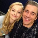 Luke Benward and Dove Cameron