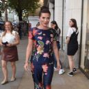 Candice Brown at the Magnum x Page Turners in London - 454 x 680