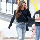Lea Michele in Jeans – Out in New York City - 454 x 681