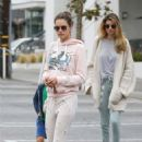 Alessandra Ambrosio – Out for breakfast in Brentwood