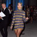 Rita Ora – Arriving at the Versace Fashion Show in Milan