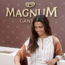MAGNUM and BCBGMAXAZRIA With Camila Alves in Cannes - 414 x 600