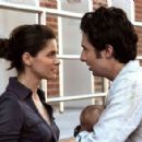 Amanda Peet and Zach Braff star in Jesse Peretz's Fast Track. Photo by: Demmie Todd. Courtesy of The Weinstein Company.