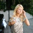 Paris Hilton Goes To Meet Dave Chapelle - July 28 2007