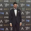 Miguel Angel Munoz on the red carpet of the Goya Cinema Awards 2015 In Madrid - 399 x 600