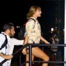Taylor Swift at Electric Lady Studios in New York