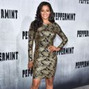 Claudia Jordan – 'Peppermint' Premiere in Los Angeles - 454 x 681