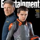 Harrison Ford, Asa Butterfield - Entertainment Weekly Magazine Cover [United States] (21 July 2013)