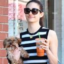 Emmy Rossum With Her Dog – Out in Beverly Hills - 454 x 629
