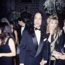 Paul Stanley and Pamela Bowen at the Plaza Hotel on December 20, 1993 - 454 x 724