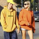 Justin Bieber and Hailey Baldwin – Out and about in Los Angeles