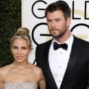 Chris Hemsworth and Elsa Pataky- 74th Annual Golden Globe Awards - 454 x 592