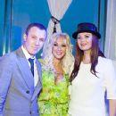 Igor Vernik, Lera Kudryavtseva and Oksana Fyodorova