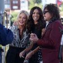 Richie Sambora & Nikki Lund Get Interviewed By Terri Seymour on March 24, 2014 in Los Angeles, CA