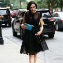 Famke Janssen Out In New York City