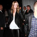 Nicky Hilton and David Katzenberg Leave the Art of Elysium Event in Hollywood