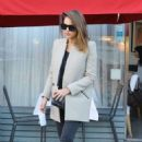 Jessica Alba: Leaving a Birthday Party