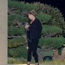 Charlotte Mckinney Leaves Nobu Restaurant in Malibu - 454 x 586