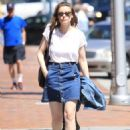 Gillian Jacobs Out and About in Beverly Hills 07/27/2016 - 454 x 621
