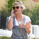Kaley Cuoco In Jeans Out In West Hollywood