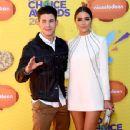 Olivia Culpo and Nick Jonas- Nickelodeon's 28th Annual Kids' Choice Awards - Arrivals