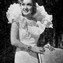 Dorothy Dare modeling evening gown. - 231 x 557