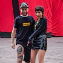 Ursula Corbero – With a fan who tattooed his portrait on his leg in Milan - 454 x 681