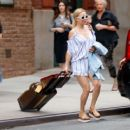 Kate Hudson Leaves hotel in New York - 454 x 384