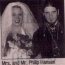 Stephanie Opal Weinstein and Phil Anselmo - 454 x 498