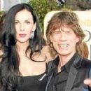 L'Wren Scott and Mick Jagger at 62nd Annual Golden Globe Awards - 16 January 2005