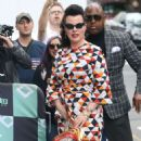 Debi Mazar – Promotes TV series 'Younger' at AOL Build Series in NY - 454 x 554