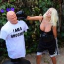 Courtney Stodden – Takes shots at her ex Doug Hutchinson punching shirt in Beverly Hills - 454 x 394