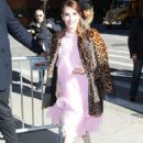 Emma Roberts Arrives the Today Show Studios in NYC