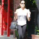 Teri Hatcher in Tights – Out in Studio City - 454 x 681