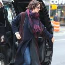 Anne Hathaway spotted out and about in New York City, New York on January 20, 2015