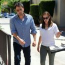 Jennifer Garner and Ben Affleck out in Los Angeles (July 16)