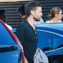 Tobey Maguire & Jennifer Meyer Get Dinner At Nobu With Friends - July 2, 2016 - 454 x 581