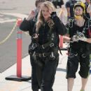 AnnaLynne McCord – Skydives for her charity Together1Heart in Santa Barbara - 454 x 628