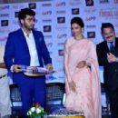 Deepika Padukone & Arjun Kapoor at the screening of the movie Finding Fanny in Mumbai. September 10, 2014 - 454 x 303