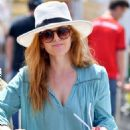 Isla Fisher out shopping in Studio City