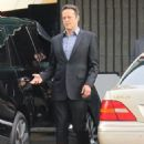 Vince Vaughn is spotted on the set of the hit HBO series 'True Detective' filming in Los Angeles, California on January 30, 2015 - 454 x 593