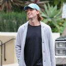 Patrick Schwarzenegger and his mother Maria Shriver are spotted out house hunting for Patrick in Hollywood, California on January 10, 2017 - 451 x 600