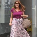 Lisa Snowdon Leaving Radio Station In London