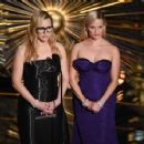Kate Winslet and Reese Witherspoon at The 88th Annual Academy Awards - The Show (2016) - 454 x 354