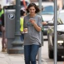 Katie Holmes – On the set of 'The Secret' in New Orleans